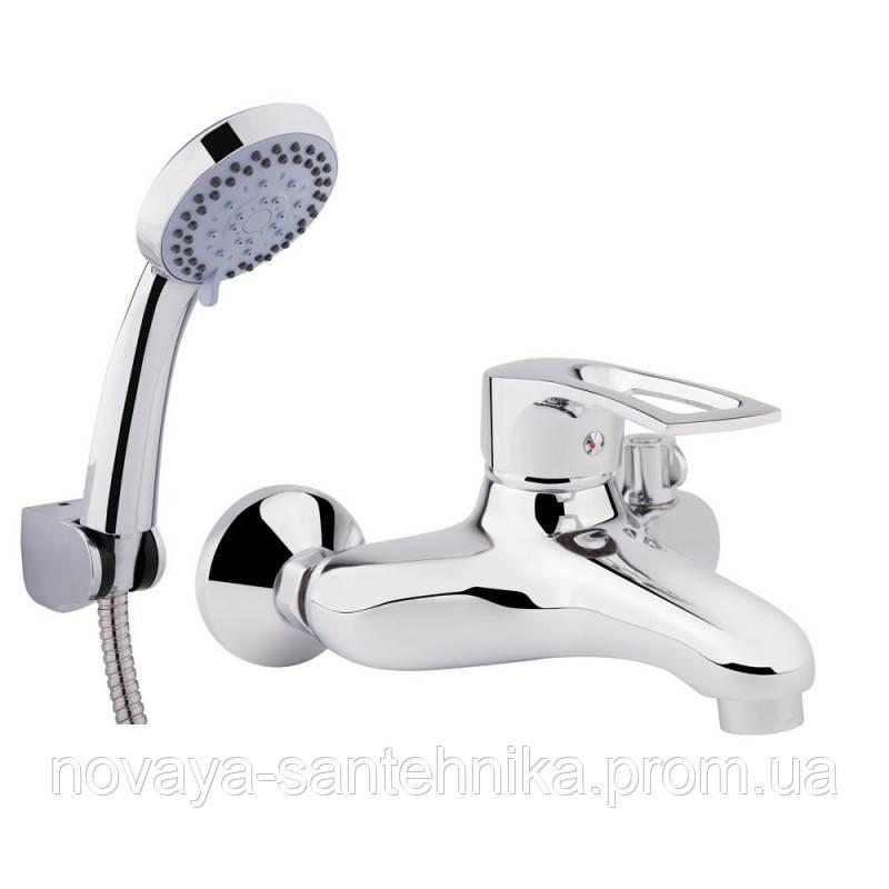 Смеситель для ванны Q-tap Hansberg CRM 006 New