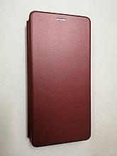 Чехол-книжка Samsung A11 / M11 Level Marsala
