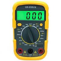 Тестер мультиметр UK-830LN  для измерения тока, проверки диодов и т.д.