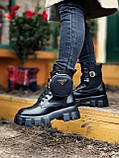 Женские ботинки PRАDА  Monolith зима (копия), фото 2