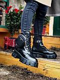 Женские ботинки PRАDА  Monolith зима (копия), фото 3