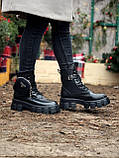 Женские ботинки PRАDА  Monolith зима (копия), фото 9