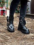 Женские ботинки PRАDА  Monolith зима (копия), фото 6