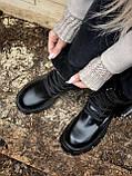 Женские ботинки PRАDА  Monolith зима (копия), фото 10