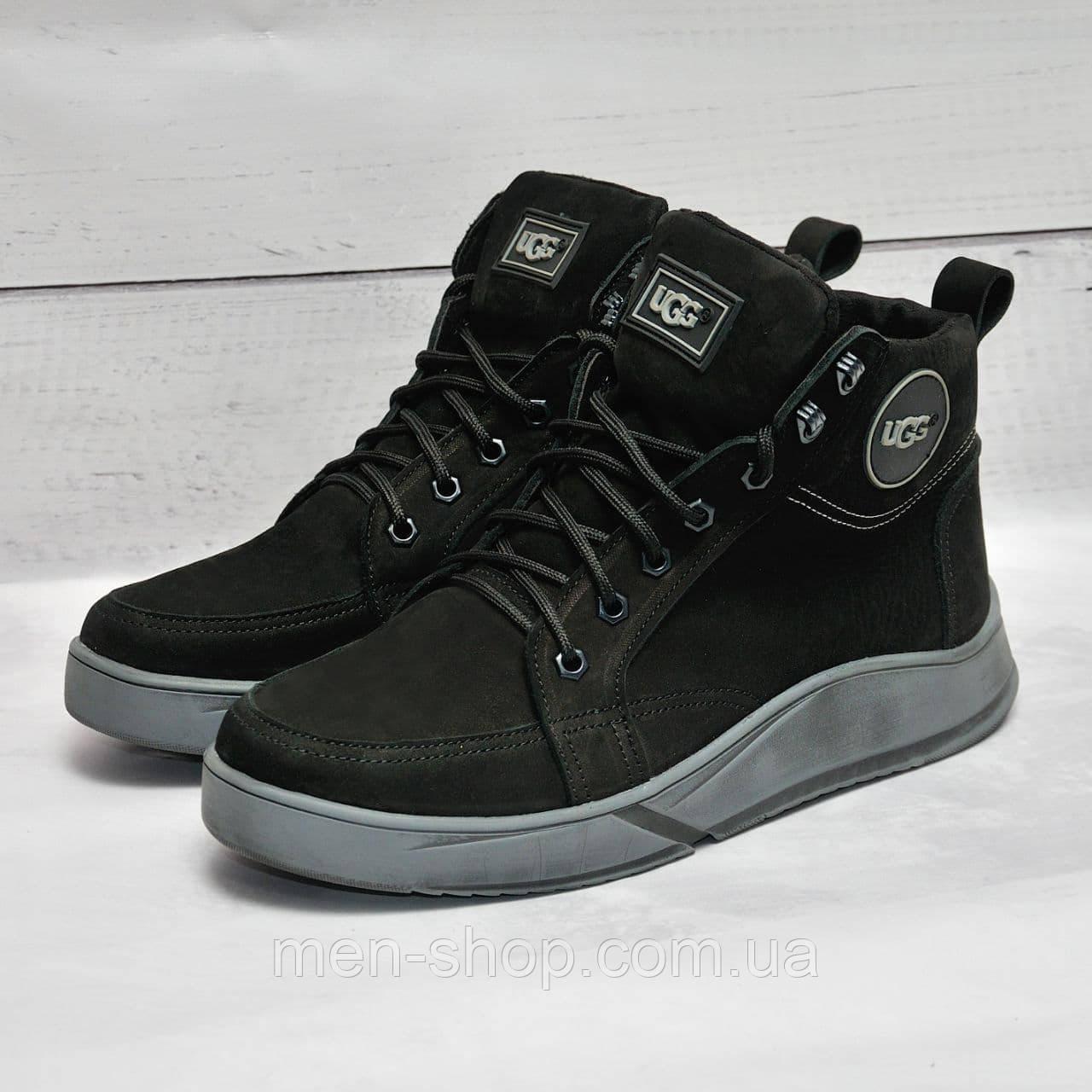 Ugg  Кожаные зимние ботинки