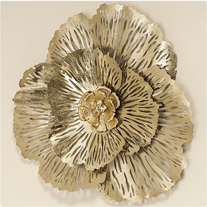 Настенный декор Цветок d74см