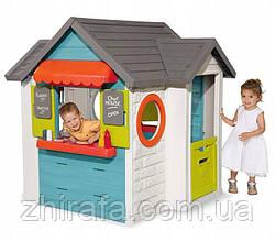 Ігровий будиночок - ресторан SMOBY 810403 Кухня, магазин, продукти