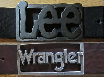 Ремни кожаные Wrangler, Lee