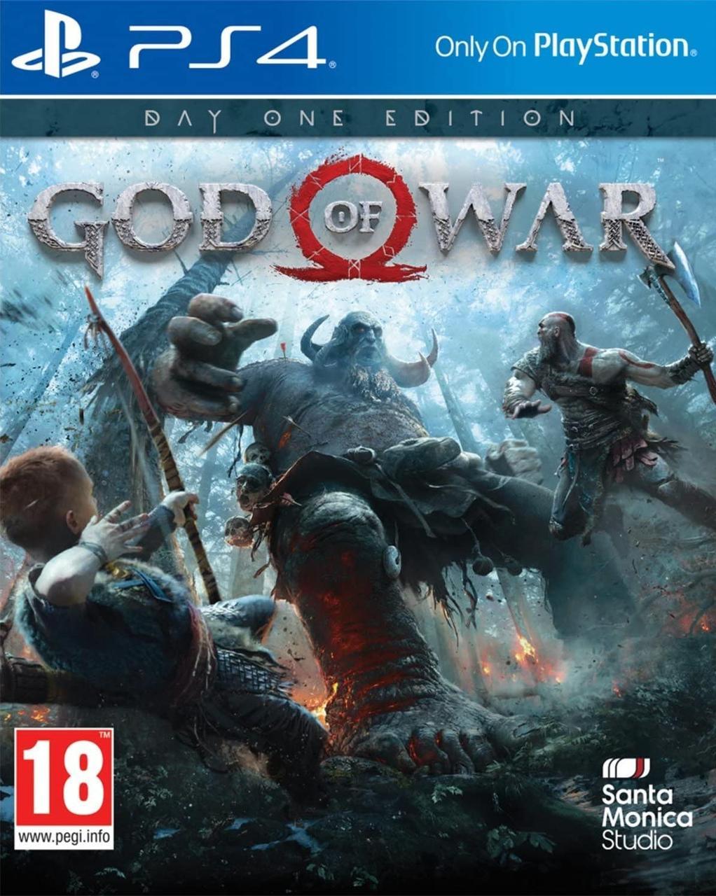 God of War (расширенное издание) . Цифровой аккаунт PlayStation 4
