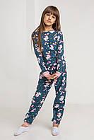 Пижама подростковая на девочку - Единорожки Интерлок