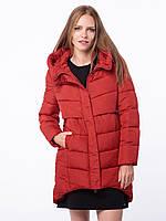 Зимняя женская красная куртка Volcano J-Velma L22309-205