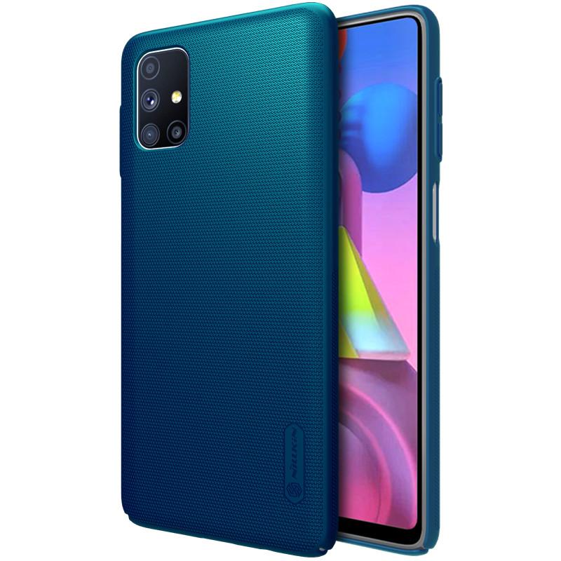 Nillkin Samsung Galaxy M51 Super Frosted Shield Blue Чохол Накладка Бампер