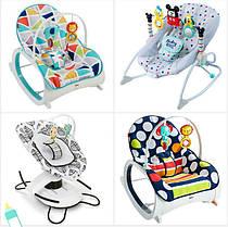 Дитячі крісла-качалки і шезлонги