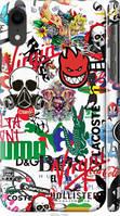 "Чехол на Apple iPhone XR Many different logos ""4022c-1560-25317"""