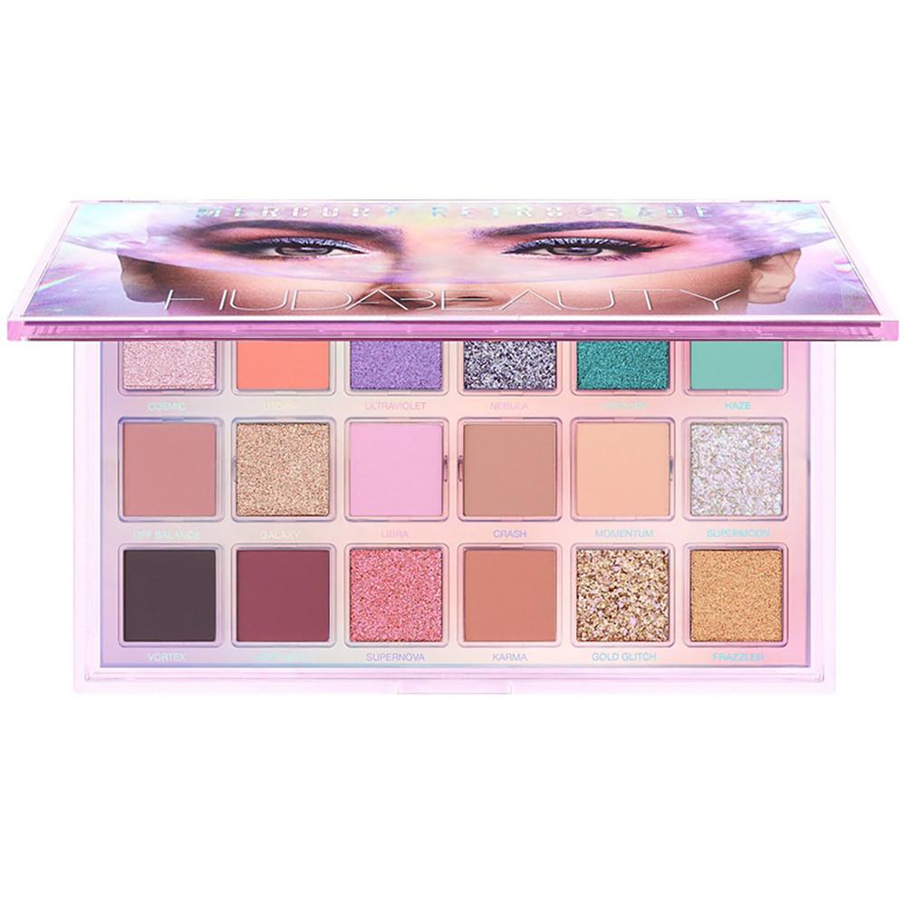 Палетка тіней для повік Huda Beauty Mercury Retrograde Eyeshadow Palette 16.1 g (6291106034165)