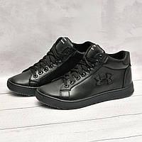Мужские ботинки с мехом в стиле Under Armour, фото 1