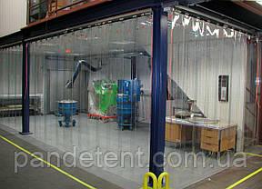 Термошторы. Ленточная теплоизолирующая ПВХ завеса. Силиконовая штора полосовая, фото 3