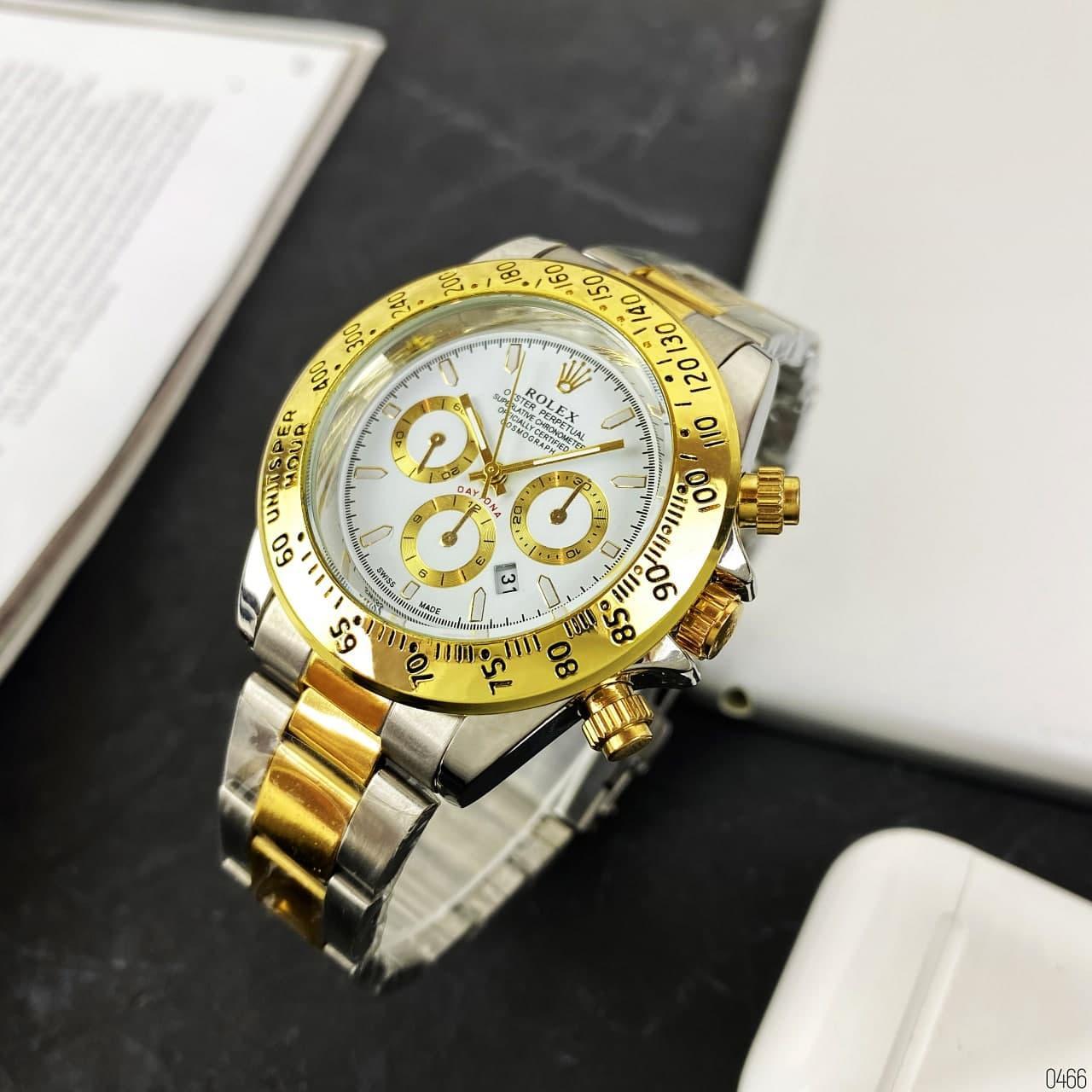 Rolex Daytona  (Gold-White)