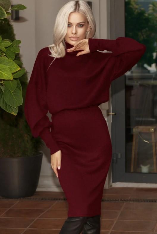 Женский ангоровый костюм с юбкой Delirium