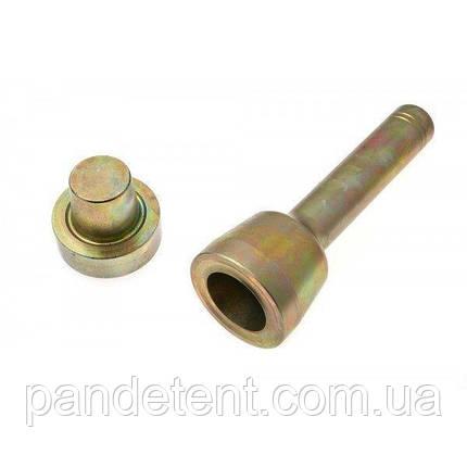 Оправка обратная (развальцовщик) 40 мм, круглая, для установки люверсов., фото 2