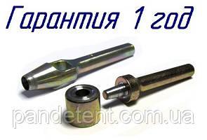 Комплект пробойник круглый и развальцовщик(оправка) 16мм для люверсов.