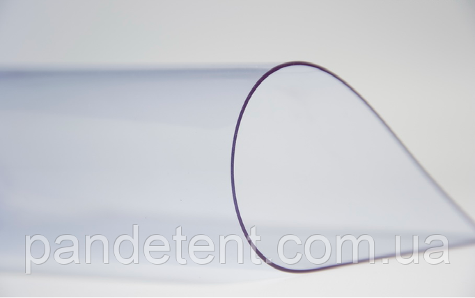 "ПВХ прозрачная плёнка ""Achilles"" Япония, 0,5 мм для мягких окон, фото 2"