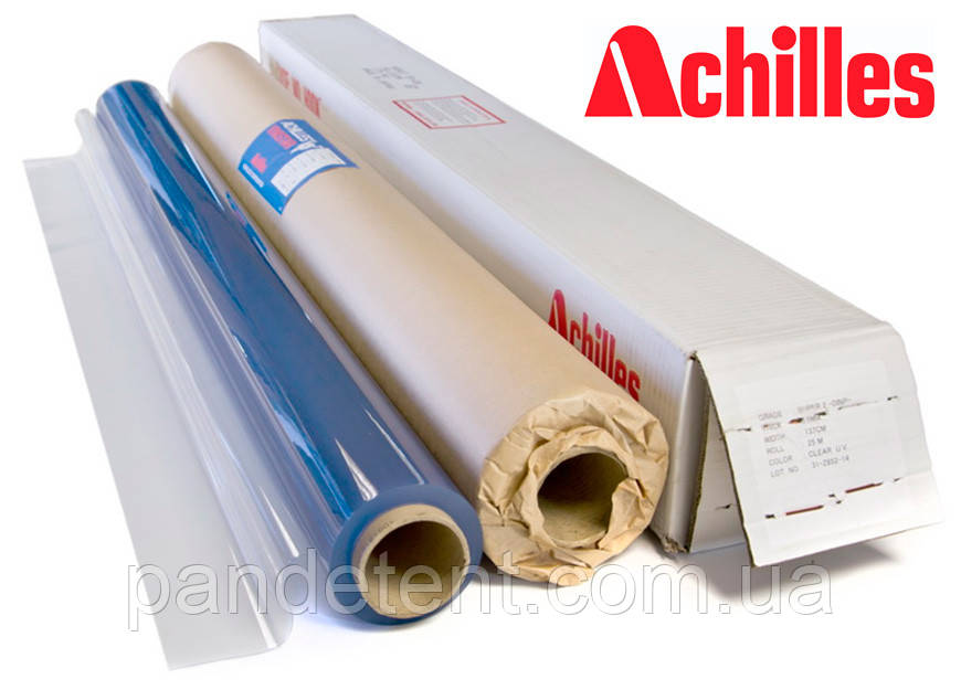 """Прозрачная пленка ПВХ для тента """"Achilles"""" Япония, 0,5 мм (1,37 х 25м.)"""