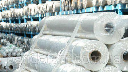Водо- и морозостойкая, прозрачная ПВХ пленка армированная для теплицы- 625 грамм/м2 (2,5 х 30м.), фото 2