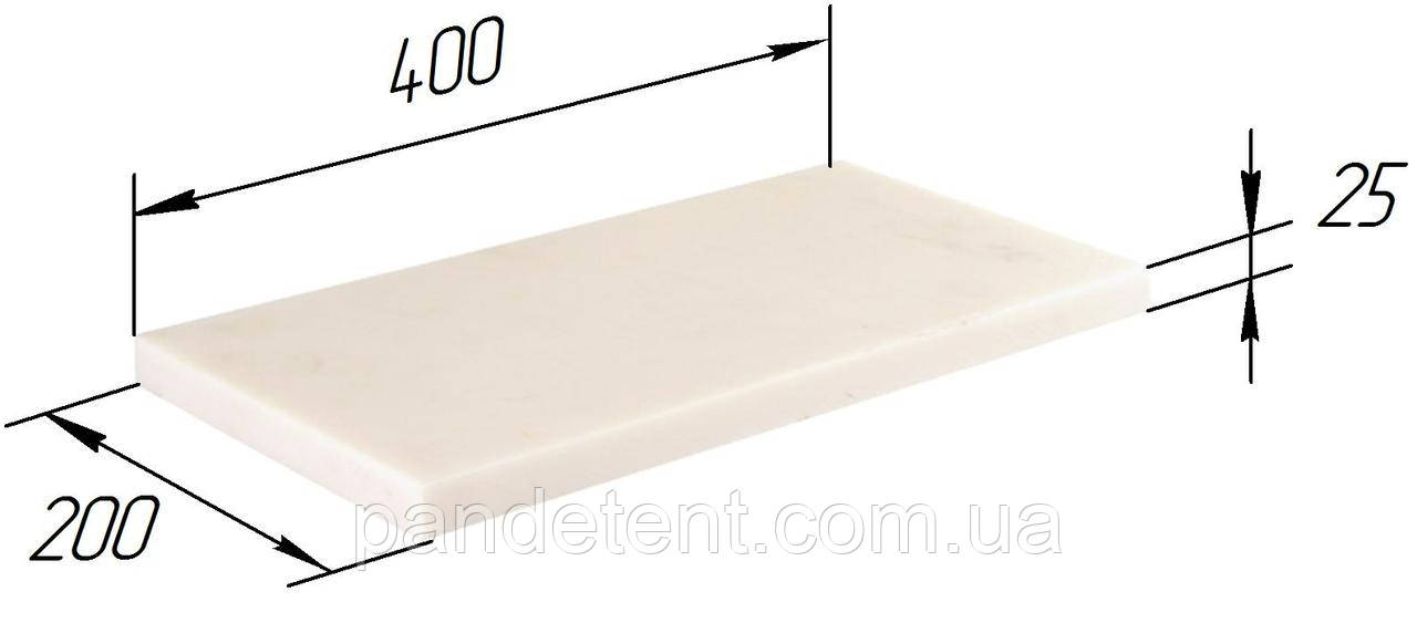 Плита резиновая армированная для установки люверсов