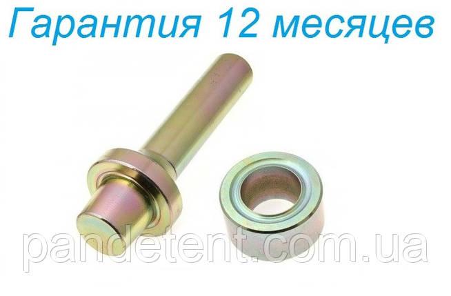 Оправка круглая и обжим (развальцовщик) для установки люверсов 25 мм. Инструмент. Установщик., фото 2