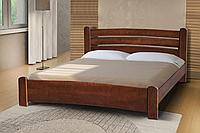 Кровать Сабрина 160-200 см темный орех (Элегант)