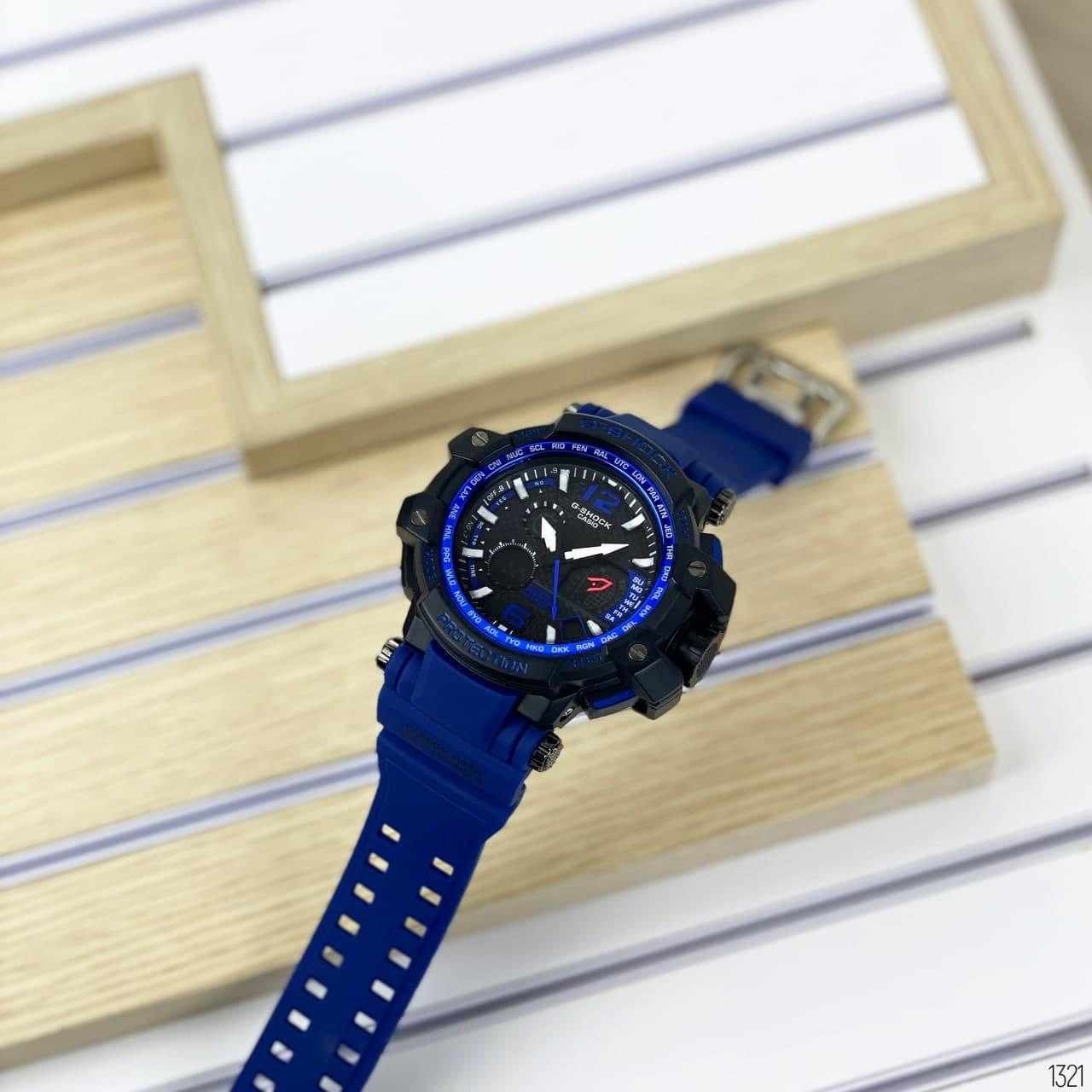 Casio G-Shock GPW-1000 (Black-Blue)