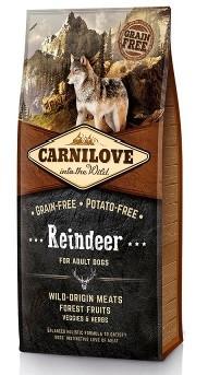 Корм Carnilove для собак с северным оленем   Carnilove Adult Raindeer 1,5 кг