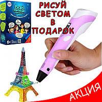 3Д ручка MyRiwell Pen 2 3D Ручка для детей 2-го поколения с дисплеем LCD для творчества рисования