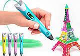 3D Pen Ручка для малювання MyRiwell дітей 2-го покоління з дисплеєм LCD 3Д Pen ручка 2 для творчості, фото 5