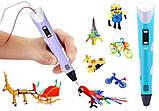3D Pen Ручка для малювання MyRiwell дітей 2-го покоління з дисплеєм LCD 3Д Pen ручка 2 для творчості, фото 2