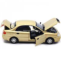 Машинка ігрова автопром «Ланос» Бронза (світло, звук) 7778, фото 8