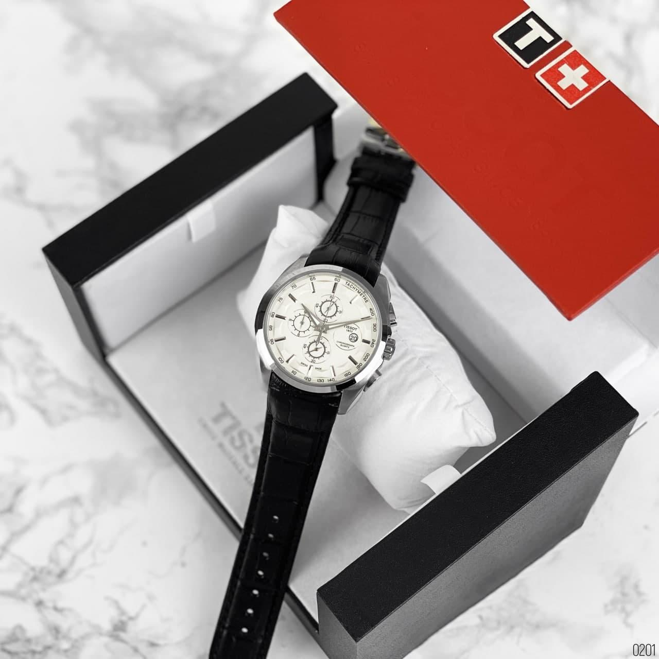 Tissot (Silver-White-Black) (ААА-класс)