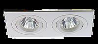 Светильник встраиваемый  Citilux WH-2 из алюминия 2*MR-16