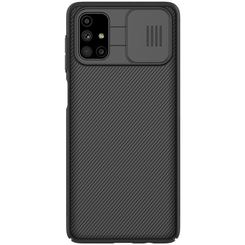 Nillkin Samsung Galaxy M51 CamShield Case Black Чехол Накладка Бампер