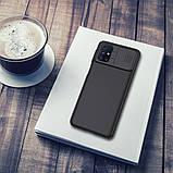 Nillkin Samsung Galaxy M31s CamShield Case Black Чехол Накладка Бампер, фото 5