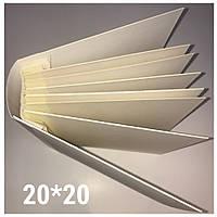 Заготовка для альбома из пивного картона 20*20 см