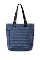 Женская стеганая сумка Дебби синяя