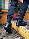 Мужские зимние кроссовки Adidas Daroga черные (копия), фото 2
