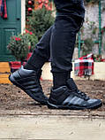 Мужские зимние кроссовки Adidas Daroga черные (копия), фото 8