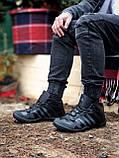 Мужские зимние кроссовки Adidas Daroga черные (копия), фото 4