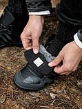 Мужские зимние кроссовки Adidas Daroga черные (копия), фото 5