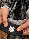 Мужские зимние кроссовки Adidas Daroga черные (копия), фото 6