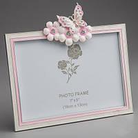 """Рамка для фотографии """"Бабочка в цветах"""""""