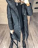 Женское демисезонное пальто куртка черное графитовое лазурное мятное розовое 42-44 46-48 50-52, фото 8